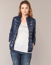 textil Mujer plumas Emporio Armani EA7 TRAIN CORE Marino