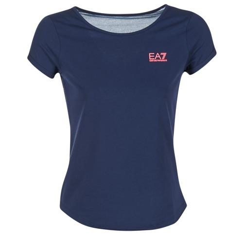 textil Mujer Tops / Blusas Emporio Armani EA7 TRAIN GRAPHIC Azul