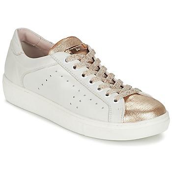 Zapatos Mujer Zapatillas bajas Tosca Blu  Blanco / Oro