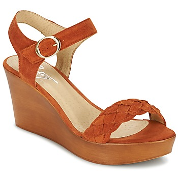 Zapatos Mujer Sandalias Betty London GIMI Rojizo