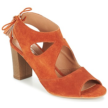 Zapatos Mujer Sandalias Betty London GARMER Rojizo