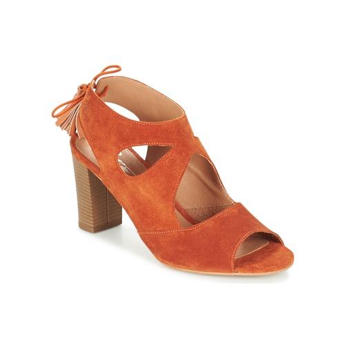 Los últimos zapatos de descuento para hombres y mujeres Zapatos especiales Betty London GARMER Rojizo