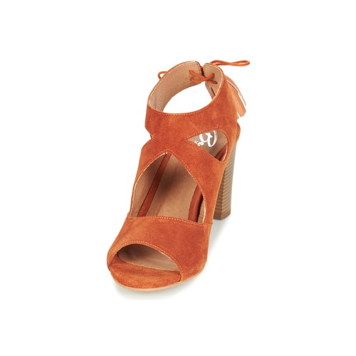 Rojizo London Betty Garmer Sandalias Mujer Zapatos Ygy6b7f