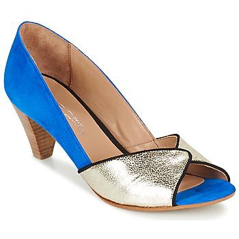 Zapatos Mujer Zapatos de tacón Betty London GABYN Azul / Oro