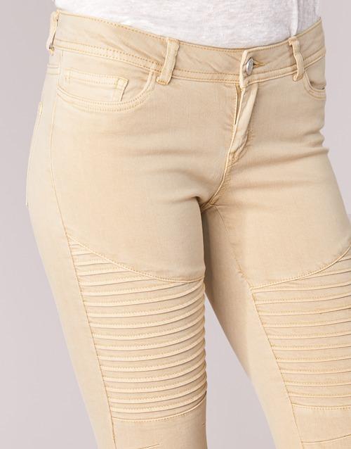 Con Bolsillos Textil 5 Mujer Noisy Pantalones May Eve Beige nwPOkN0X8Z