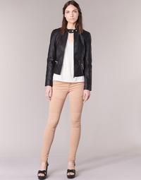 textil Mujer pantalones con 5 bolsillos Noisy May EVE Rosa