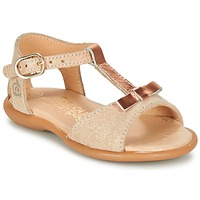 Zapatos Niña Sandalias Citrouille et Compagnie GUGULE Oro