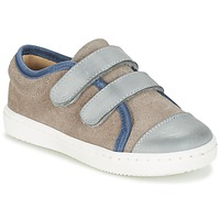 Zapatos Niño Zapatillas bajas Citrouille et Compagnie GOUTOU Gris / Topotea / Azul