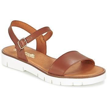 Zapatos Niña Sandalias Citrouille et Compagnie GLAPOTTI Camel