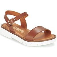 Zapatos Niña Sandalias Citrouille et Compagnie GLAPOTI Camel