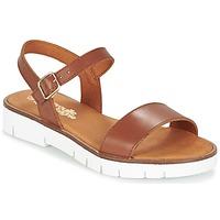 Zapatos Niña Sandalias Citrouille et Compagnie GAPOTI Camel