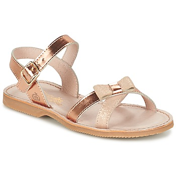 Zapatos Niña Sandalias Citrouille et Compagnie GOGOGATO Bronce