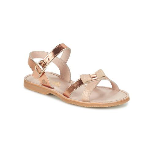 Zapatos Niña Sandalias Citrouille et Compagnie JISCOTTE Bronce