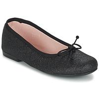 Zapatos Niña Bailarinas-manoletinas Citrouille et Compagnie GLIGLO Negro / Brillantina