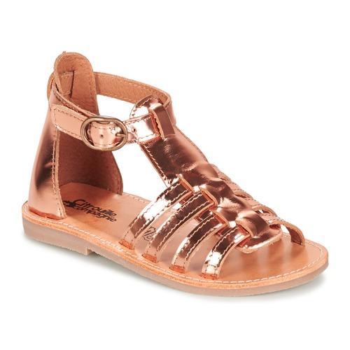 Zapatos Niña Sandalias Citrouille et Compagnie JASMA Cobre