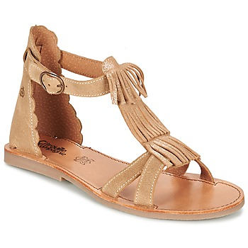 Zapatos Niña Sandalias Citrouille et Compagnie GAMELA Camel