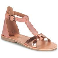 Zapatos Niña Sandalias Citrouille et Compagnie GUBUDU Rosa / Oro