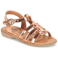 Zapatos Niña Sandalias Citrouille et Compagnie GROUFLA Bronce