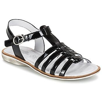 Zapatos Niña Sandalias Citrouille et Compagnie GROUFLA Negro