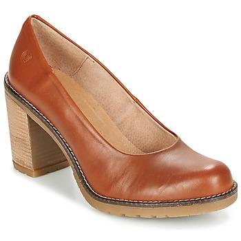Zapatos Mujer Zapatos de tacón Casual Attitude GEAL Camel