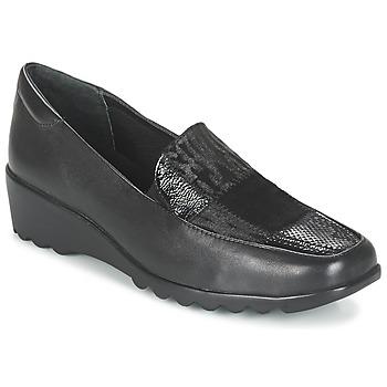Zapatos Mujer Mocasín Romika Carree 17 Schwarz
