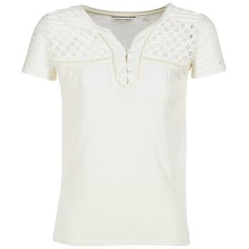 textil Mujer camisetas manga corta Naf Naf OPARI CRUDO