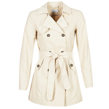 textil Mujer trench Only MARIA LONG Beige