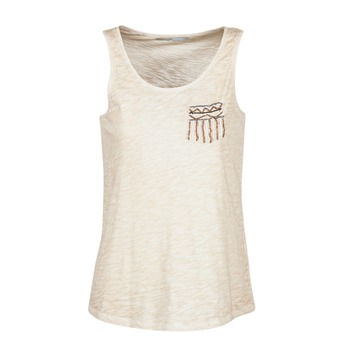 textil Mujer camisetas sin mangas Only VIOLA Beige