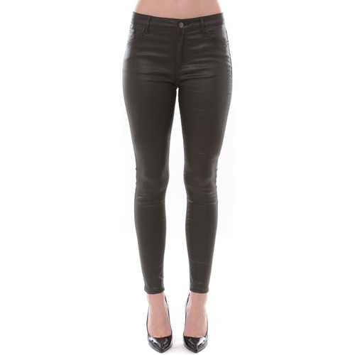 textil Mujer Pantalones con 5 bolsillos Comme Des Filles Jean Love Denim Kaki 123P16H-3 Verde