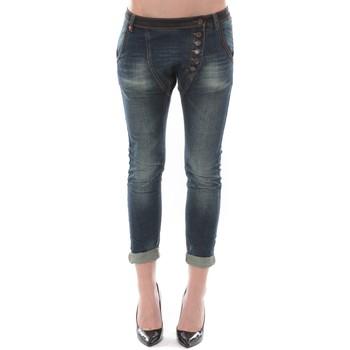 textil Mujer Vaqueros ¾ & 7/8 Dress Code Jean Remixx Bleu Brut RX862 Azul