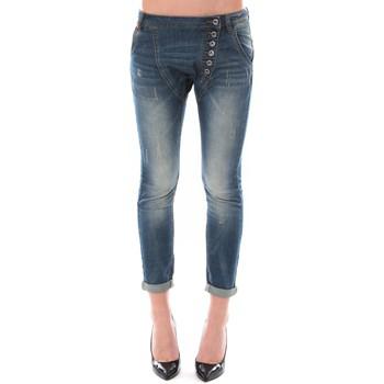 textil Mujer Vaqueros ¾ & 7/8 Dress Code Jean Remixx Bleu Delavé RX860 Azul