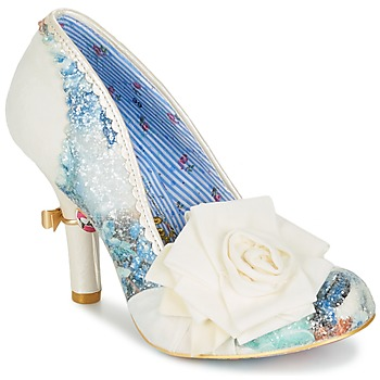 Zapatos Mujer Zapatos de tacón Irregular Choice WASHINGTON Blanco
