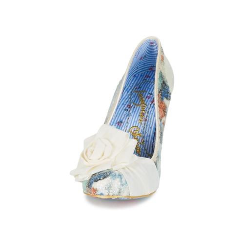 Tacón De Irregular Choice Zapatos Blanco dQeWroxCB