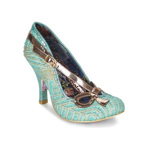 Zapatos Mujer Zapatos de tacón Irregular Choice BUBBLES Verde / Menta