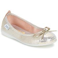 Zapatos Niña Bailarinas-manoletinas Citrouille et Compagnie GRAGON Beige / Brillantina