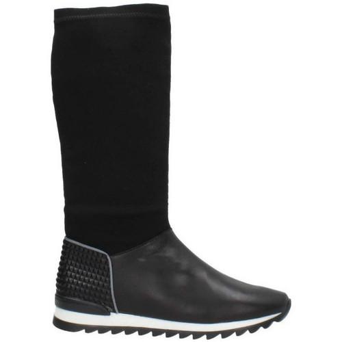 Zapatos especiales para hombres y mujeres Unisa DOLMEN Negro - Zapatos Botas urbanas Hombre