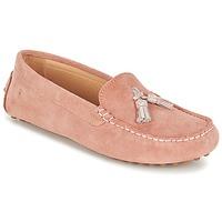Zapatos Mujer Mocasín Casual Attitude GATO Rosa