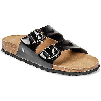 Zapatos Mujer Zuecos (Mules) Casual Attitude GERRO Negro
