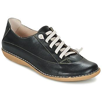 Zapatos Mujer Derbie Casual Attitude GERALD Negro
