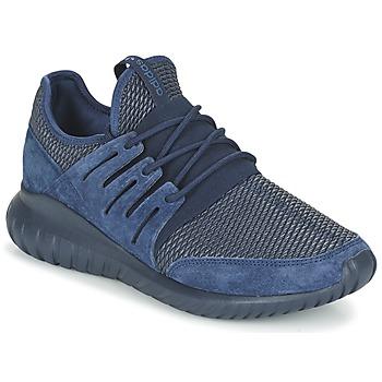Zapatos Zapatillas bajas adidas Originals TUBULAR RADIAL Marino