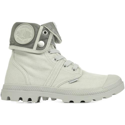 Zapatos Mujer Zapatillas altas Palladium US Baggy Vapor Metal W F gris