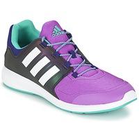 Zapatos Niños Zapatillas bajas adidas Performance S-FLEX K Negro / Violeta