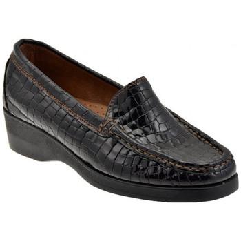 Zapatos Mujer Mocasín Valleverde  Marrón