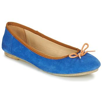 Zapatos Mujer Bailarinas-manoletinas Kickers BAIE Azul / Naranja