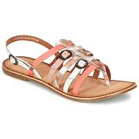 Zapatos Mujer Sandalias Kickers DIXMILLE Plata / Rosa / Blanco