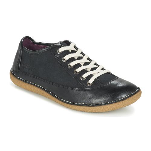 Zapatos promocionales Kickers HOLLYDAY Negro  Casual salvaje