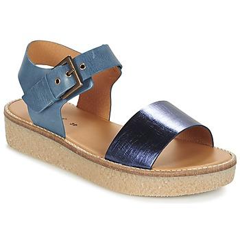 Zapatos Mujer Sandalias Kickers VICTORY Azul