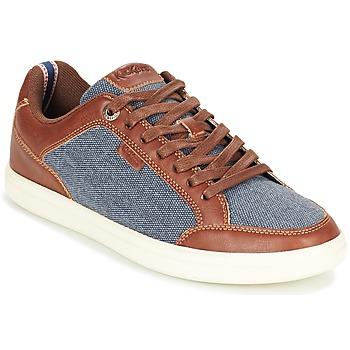 Zapatos Hombre Zapatillas bajas Kickers AART HEMP Marrón / Azul