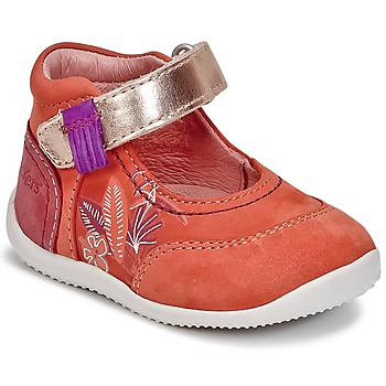 Zapatos Niña Bailarinas-manoletinas Kickers BIMAMBO Naranja / Fucsia / Rosa