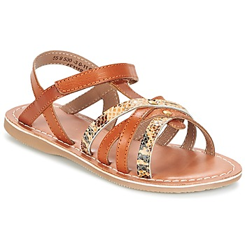 Zapatos Niña Sandalias Kickers FARAH Camel